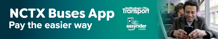 Nottingham City Transport - download the bus app and pay the easier way