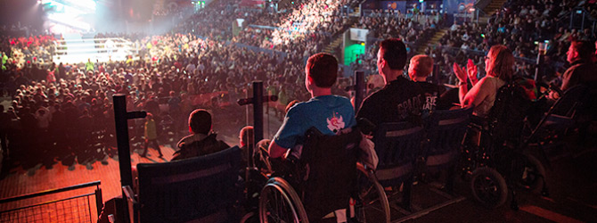 Motorpoint Arena Accessible Event Seating