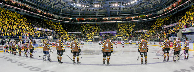 Panthers Season at the Motorpoint Arena Nottingham
