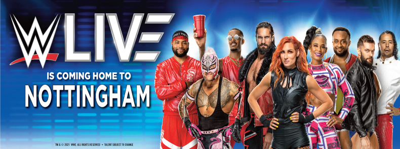 WWE LIVE Hospitality at the Motorpoint Arena Nottingham