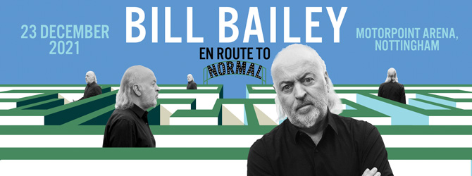 Bill Bailey at the Motorpoint Arena Nottingham