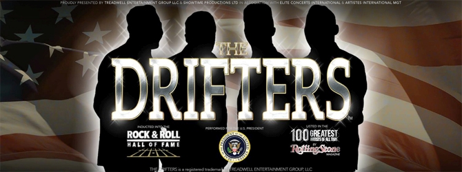 The Drifters at Nottingham Arena