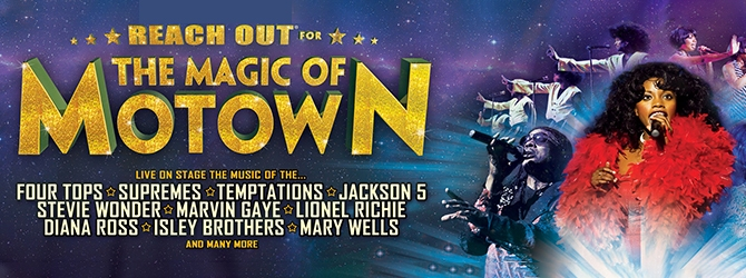The Magic of Motown at the Motorpoint Arena Nottingham on Thursday 17 December 2020