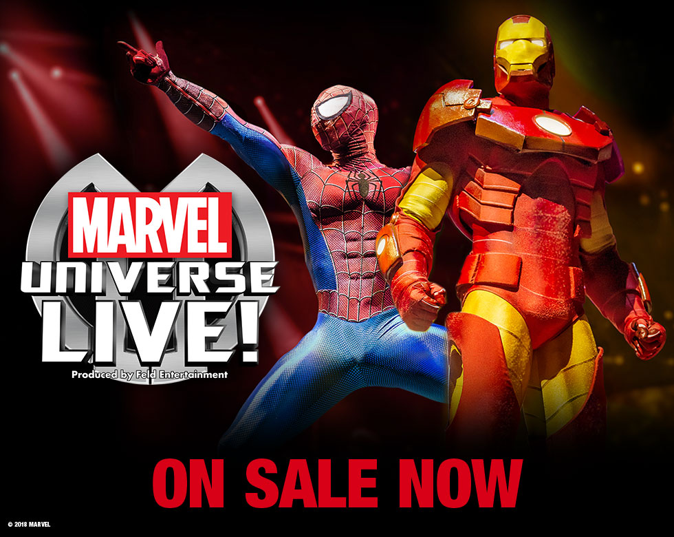 Marvel Universe LIVE! at the Motorpoint Arena Nottingham on 18 - 22 September 2019