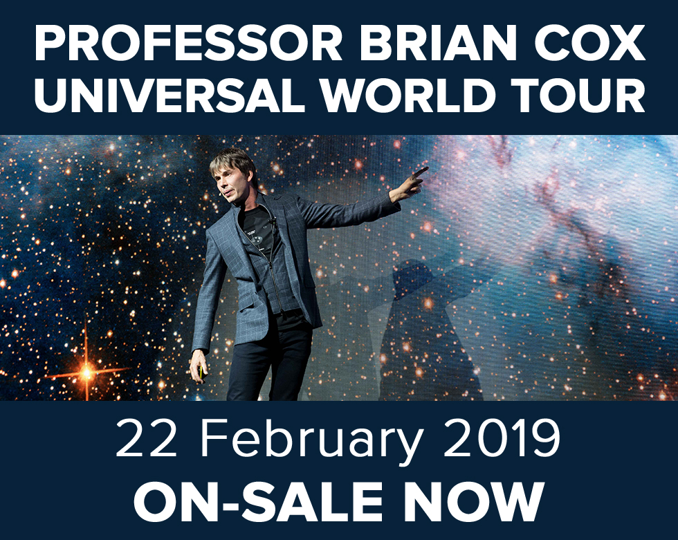 Professor Brian Cox UNIVERSAL – World Tour 2019 Tour Tickets at the Motorpoint Arena Nottingham on Friday 22 February 2019. Buy tickets online.