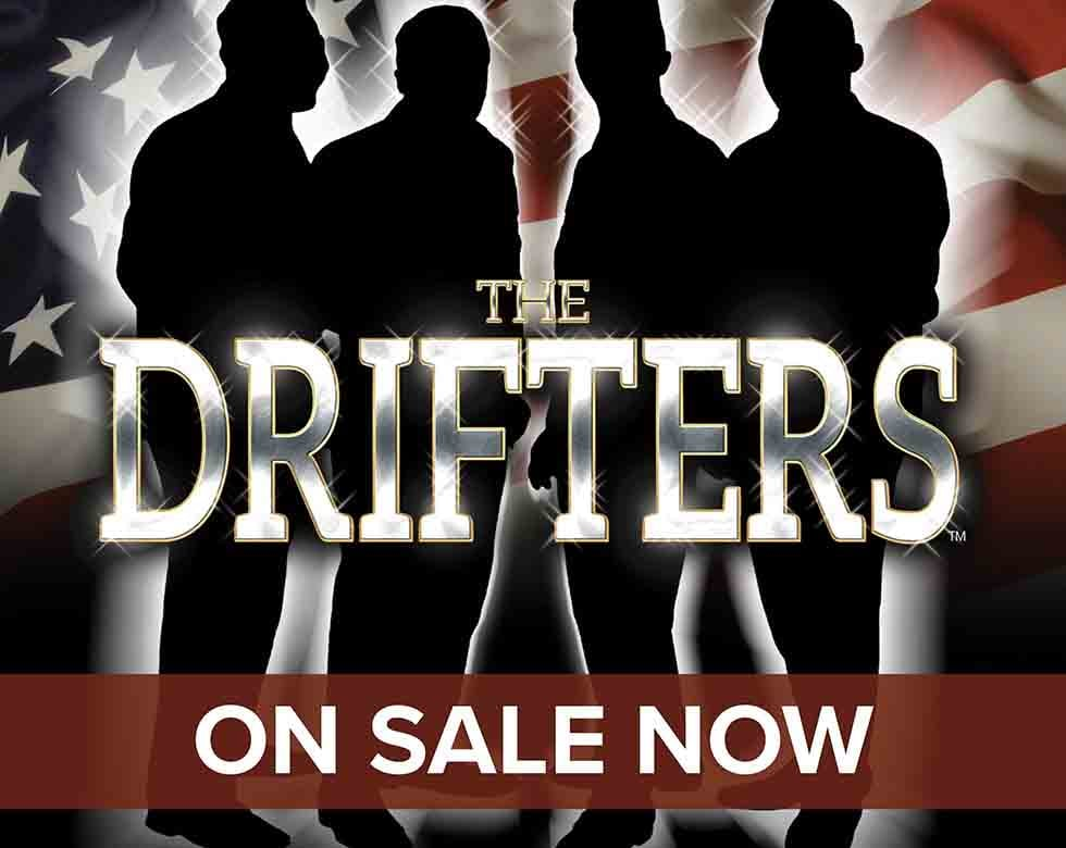 The Drifters at the Motorpoint Arena Nottingham on Saturday 9 May 2020