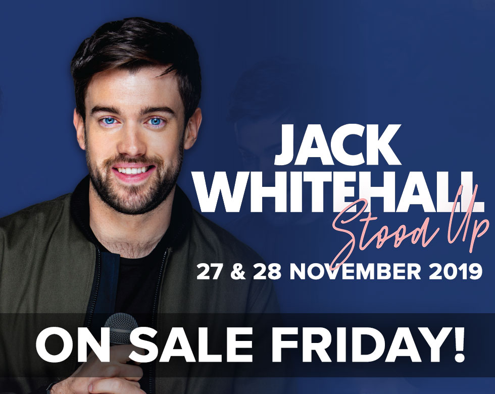 Jack Whitehall at the Motorpoint Arena Nottingham on 27 & 28 November 2019