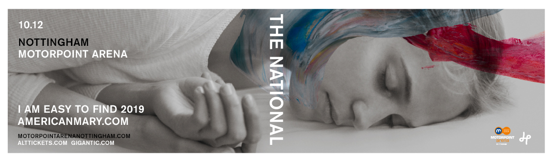 The National at the Motorpoint Arena Nottingham on 10 December 2019