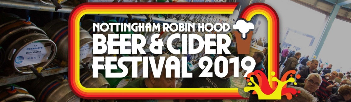 Nottingham Beer & Cider Festival Tickets at the Motorpoint Arena Nottingham on 9 - 12 October 2019