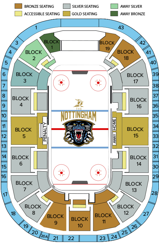 Visiting Us Arena Seating Plan