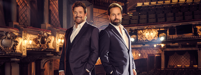 Michael Ball & Alfie Boe on Friday 28 February 2020