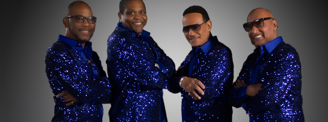 The Four Tops and The Temptations at the Motorpoint Arena Nottingham on Friday 30 October 2020
