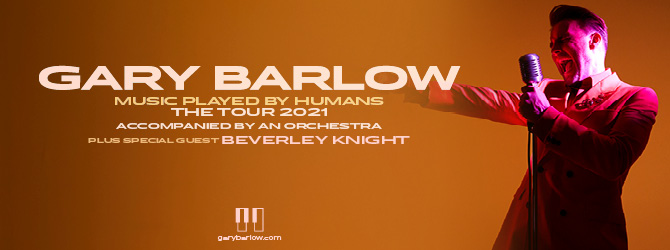 Gary Barlow at the Motorpoint Arena Nottingham