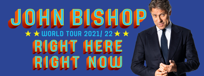John Bishop at the Motorpoint Arena Nottingham