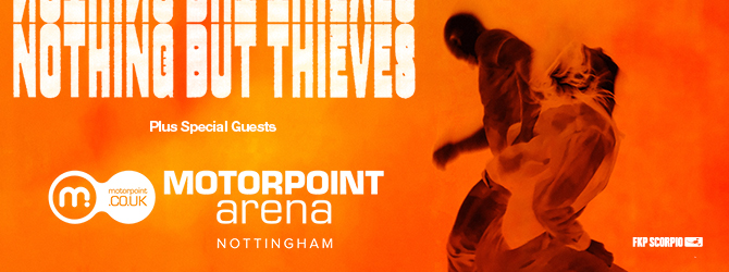 Nothing But Thieves at the Motorpoint Arena Nottingham
