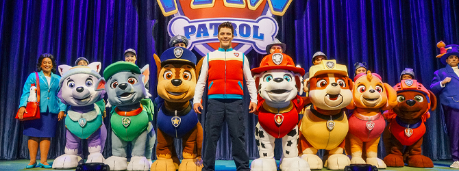 Paw Patrol at the Motorpoint Arena Nottingham on Wednesday 4 August 2021