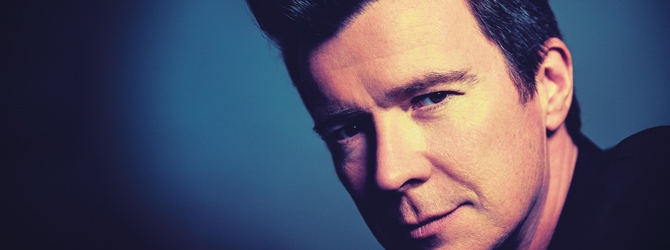 Rick Astley at the Motorpoint Arena Nottingham