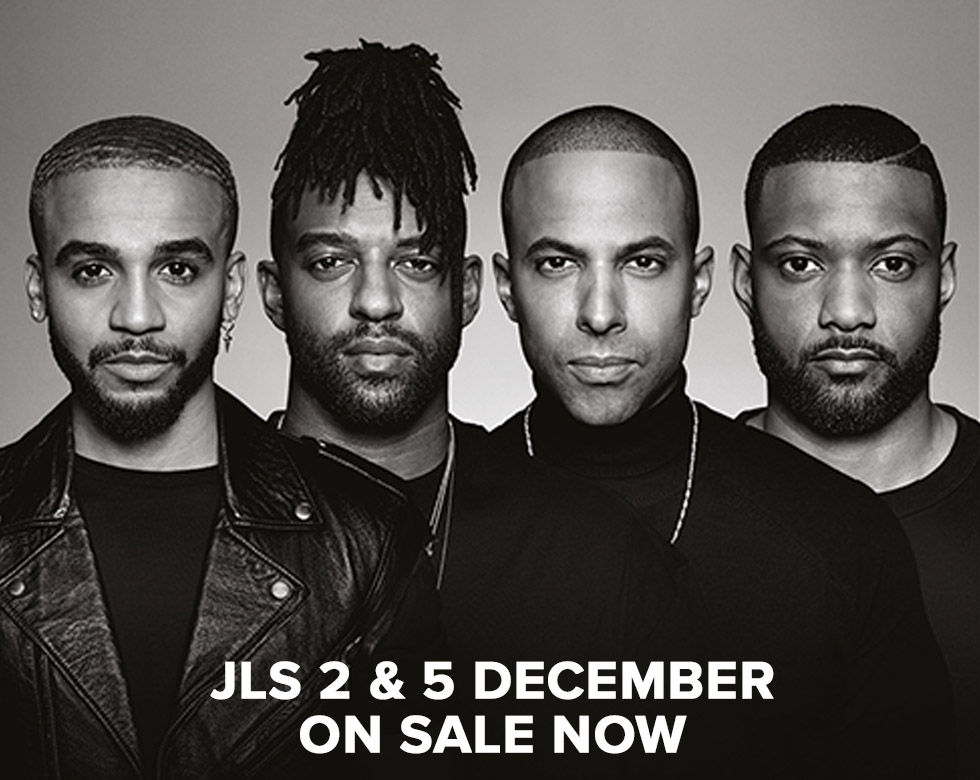 jls at the Motorpoint Arena Nottingham on Wednesday 2 and Saturday 5 December 2020