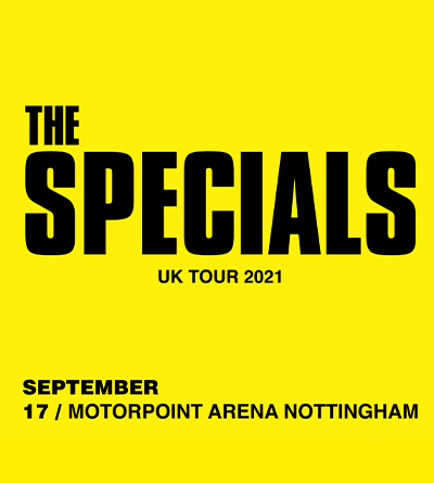 The Specials At The Motorpoint Arena Nottingham