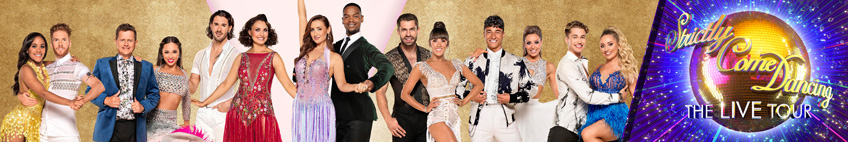 Strictly Come Dancing at the Motorpoint Arena Nottingham on 4 & 5 Feb 2020
