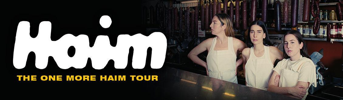 HAIM at the Motorpoint Arena Nottingham on 19 June 2021.