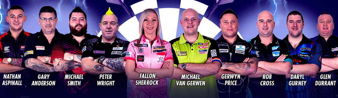Unibet Premier League Darts at the Motorpoint Arena Nottingham on Thursday 13 February 2020