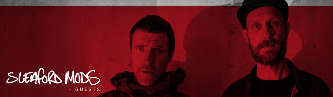 Sleaford Mods at the Motorpoint Arena Nottingham on 27 November 2021