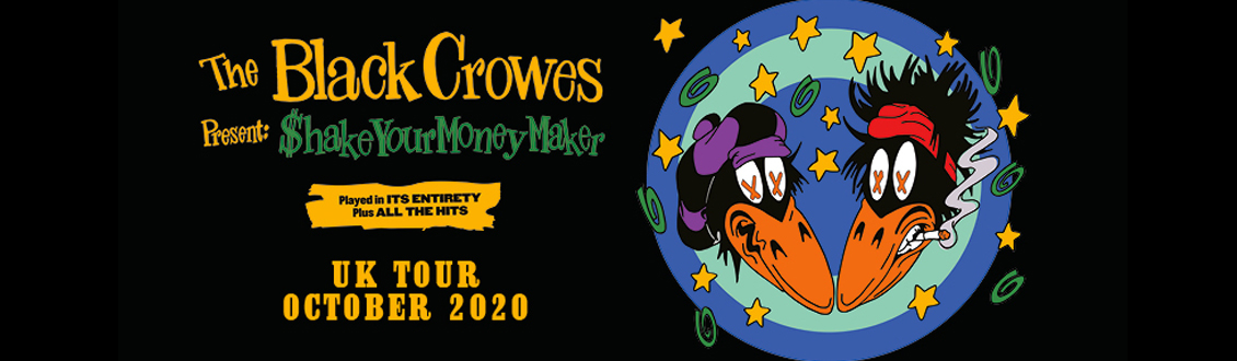 The Black Crowes at the Motorpoint Arena Nottingham on Friday 16 October 2020