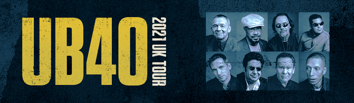 UB40 at the Motorpoint Arena Nottingham on 16 March 2021