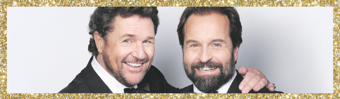 Michael Ball and Alfie Boe at the Motorpoint Arena Nottingham